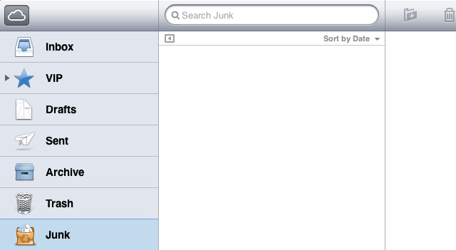 Dealing with the iCloud Junk Mailbox