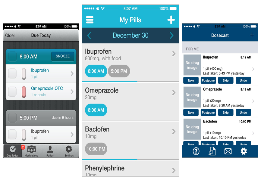 Managing Medications in iOS